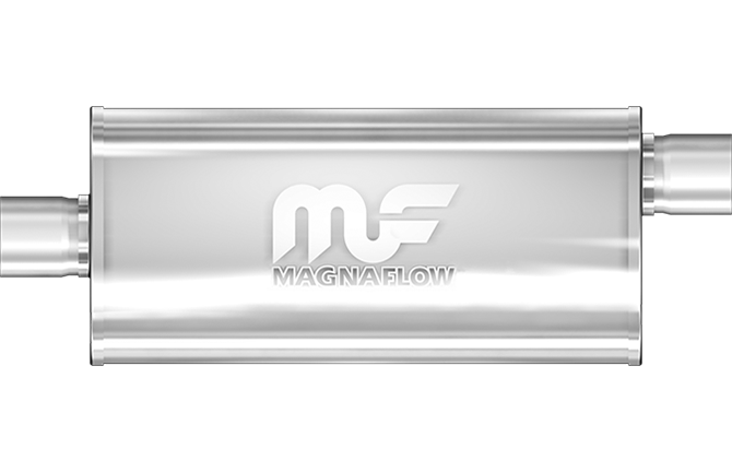 MagnaFlow Cutting and Welding Required During Installation #14250